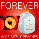 Aloe bits n` peaches